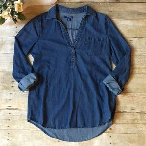 Old Navy Chambray Tunic Size XS
